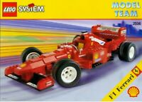 LEGO System Racing - Super Rare - Model Team F1 Ferrari 2556 - New & Sealed