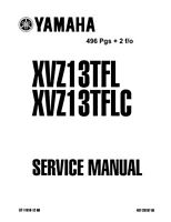 Yamaha Royal Star Venture Repair Service Manual 2004 2005 2006 2007 XVZ13TFL