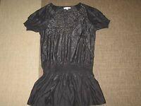 Best - Emilie Tunika Bluse Shirt Gr. S/M 36 38 schwarz Kleid Oberteil Top