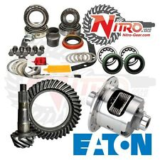 Chevy 12 Bolt Car 3.31 Nitro Gear Ring Pinion Master Install Kit Eaton Posi