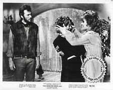 CLINT EASTWOOD Shirley MacLaine still TWO MULES FOR SISTER SARAH 1970 vintOrg#46
