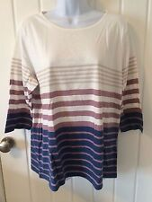 Collection L Stripe Top Size 20. RRP £19.99