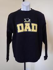 "Neuf - Michigan Tech University "" Papa "" HOMME S (S) Noir Sweatshirt Col Rond"
