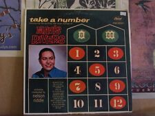 MAVIS RIVERS, TAKE A NUMBER - MONO LP T1210