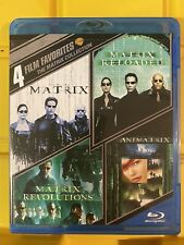 New Listing4 Film Favorites Matrix Collection New Blu-ray Matrix 1 2 3 + The Animatrix