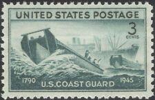 USA 1945 US Coastguard Service/People/Ships/Boats/Nautical/Transport 1v (n44978)