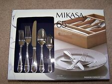 Mikasa 65pcs.Set Service for 12- Five Piece place setting (Sinclair) NEW IN BOX