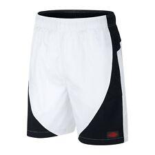 2017 Nike Air Jordan Blue Label Muscle Shorts SZ M Black White Red 884269-010