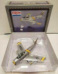 Spec Cast F-86 Sabre Jet Exxon Tiger Spirit 1/48 LT Mike Letteer Diecast Metal