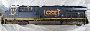 Scale Trains CSXT (CSXT 3400) ET44AC Rivet Counter Boxcar Scheme No Original Box