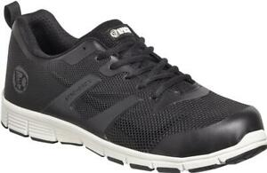 NEW - APACHE VAULT LIGHTWEIGHT INDUSTRIAL WORKWEAR PPE SAFETY TRAINERS BLACK