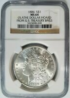 """1921 Morgan Silver Dollar NGC MS 63 /"""" The Best Looking /"""""""