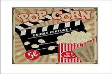 Carrelage Bar Party Cinéma pop-corn imprimées céramique 20x30 cm