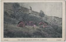 Gipsies Retreat Furnace Llanelly Carmarthenshire Social History Printed Postcard