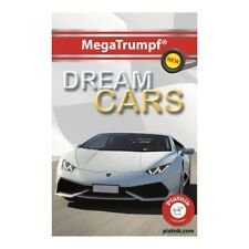 Piatnik 423918 - MegaTrumpf® Quartett Dream Cars, 32 Karten