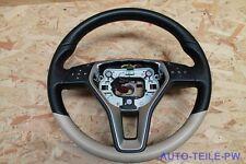 Mercedes-Benz Sport Leder Lenkrad CLS 218 original Designo beige A2184608318