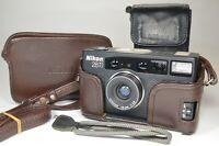 Nikon 28Ti P&S 35mm Film Camera Lens 28mm f2.8 #a1240 Near MINT Shooting Tested