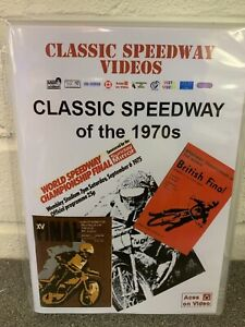 Stocking Filler: Classic Speedway of the 1970s, Speedway video on dvd