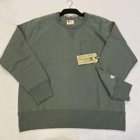 CHAMPION Crew Neck Sweatshirt Steet Metal Grey Mens Size UK S *REF195