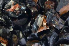 2 lbs of Mahogany Obsidian Rough Stones from Mexico - Cabbing, Tumble Rocks
