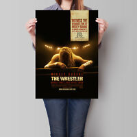 The Wrestler Movie Poster Mickey Rourke 16.6 x 23.4 in (A2)