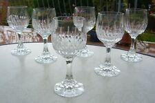 6 Weingläser   Zwiesel Glas Bleikristall  Schott?