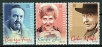 Hungary 2019 MNH Hungarian Performers Gabor Miklos 3v Set Actors People Stamps
