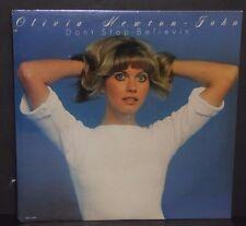 Olivia Newton John Don't Stop Believin' SEALED NEW vinyl LP record cut out