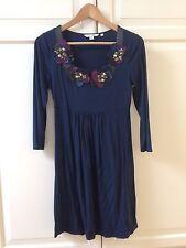 * NeuW * Tunika Bluse Shirt von Boden Gr. 36 - UK 10 Glitzer Blumen Viskose