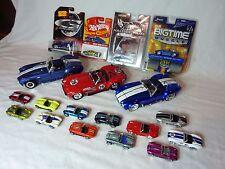 Shelby Cobra Hot Wheels, Jada, Road Legend Lot Collection Set