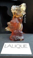 Lalique Dragon , ☆LARGER SIZE☆ Cachet Dragon Volant Amber 10139700 . BNIB !!!