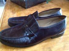 Bostonian Mens Prescott Burgundy Loafers Shoes US 14