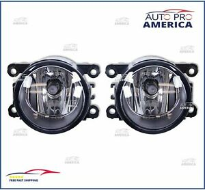 (2) OEM 15-16-17-18-2019 Honda Civic Pair Fog Light Lamp Clear Lens OEM Quality