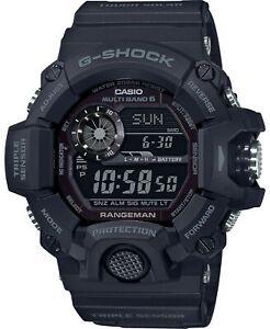Casio G-Shock GW9400-1B Rangeman Digital Black Watch MASTER OF G
