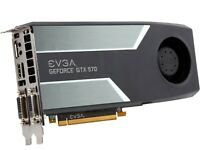 EVGA GeForce GTX 970 4GB GDDR5 256Bit PCI-Express 3.0 X16 Video Graphics Card