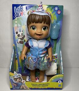 Baby Alive Tinycorns Doll Panda Unicorn NIB New Kids Toys Girls Boys Hasbro Doll