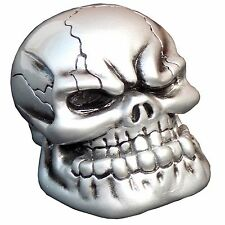 Pewter Punchy Skull shift knob M10x1.50 th