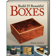 Build 25 Beautiful Boxes by Doug Stowe (Paperback) woodworking projects NEW