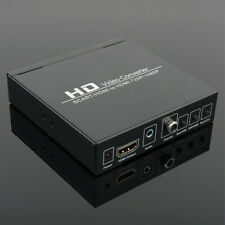 QA_ Full HD 1080P HDMI/SCART PAL System to NTSC HDMI Digital Video Converter W