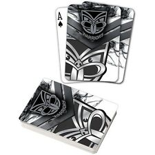 122067 NEW ZEALAND WARRIORS NRL TEAM LOGO MASCOT SUPPORTER DECK OF PLAYING CARDS