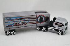 Hot Wheels Global Surveillance Truck and Trailer Mattel 2004
