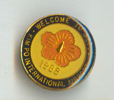 1988 Korea SEOUL Kimpo Airport Badge