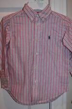 NEW!  RALPH LAUREN Boys Dress Shirt w/ Pony Logo 4T NWT