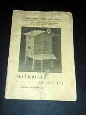 Catalogo Apicoltura - Materiale Apistico - Listino di Guerra 1918