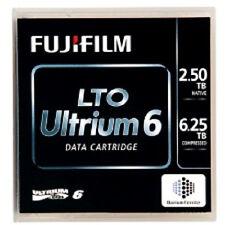 5 Pack 16310732 Fuji LTO6 Data Cartridge 6.25TB Storage Capacity (NEW)