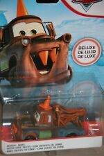 """DISNEY PIXAR CARS 3 """"MATER W/ CONE TEETH"""" DELUXE, NEW IN PACKAGE, SHIP WORLDWIDE"""
