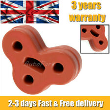 NEW RED JAGUAR XF / XJ REAR HEART EXHAUST MOUNTING RUBBER - C2C32948