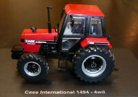 NEW Universal Hobbies Tractor Case 1494-4WD (1983) 1/32nd BLACK & RED Model