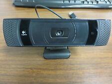 Logitech V-U0022 Revue and Google TV HD Video Calls TV Cam Skype Carl Zeiss AF