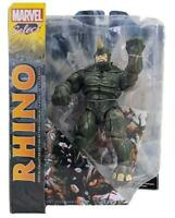 "Marvel Select Rhino 7"" Action Figure - Spider-man  19"